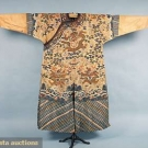 CHINESE KESU DRAGON ROBE, MID 19th C