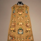 METALLIC EMBROIDERED CHASUABLE, 18TH C