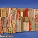 WOVEN TOWELLING SAMPLES, 19th C