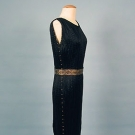 FORTUNY PLEATED SILK DELPHOS DRESS, 1920-1930