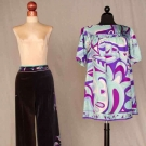 TWO PRINTED PUCCI GARMENTS, 1967-1975