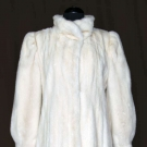 BLOND MINK COAT, c. 1950