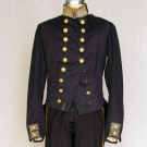 NAVAL OFFICER'S FORMAL TAILCOAT, 1840s