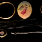 SEVEN PIECES VICTORIAN JEWELRY
