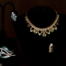 TWO DESIGNER COSTUME JEWELRY SETS, MID 20TH C