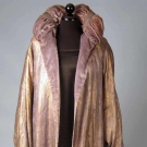 LILAC & LAME OPERA COAT, EARLY 1920s