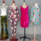 FOUR BETSEY JOHNSON GARMENTS, 1960-1980