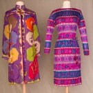 TWO PRINTED SILK PUCCI DRESSES, 1965