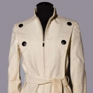 PIERRE CARDIN CANVAS COAT, 1970