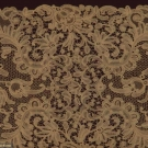 QUALITY BATTENBURG LACE STOLE, 1890-1910