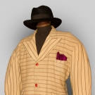 MAN'S WOOL ZOOT SUIT, N.J., 1938-1942
