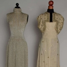 TWO TRIGERE PARTY DRESSES, 1953 & 1968