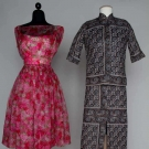 TWO PARTY OUTFITS, LATE 1950s