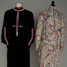 TWO SILK AFTERNOON DRESSES, c. 1922