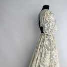 POINT DE GAZ LACE DRESS, BELGIUM, 1930's