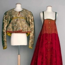 TWO FOLK GARMENTS, RUSSIA, 1840-1880