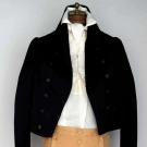 MAN'S WOOL WEDDING SUIT, MASS., JUNE 13TH, 1809
