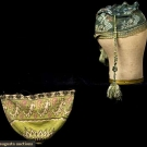 1 KNIT BAG, SYRIA, c. 1830  & 1 KNIT CAP, SICILY, 17TH C.