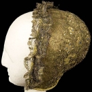 GOLD EMBROIDERED CHILD'S CAP, 1700-1750