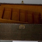 SMALL GOYARD TRUNK, EARLY 20TH C