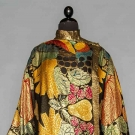 LAME & FRUIT EVENING COAT, 1920s