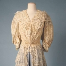 CREAM LACE JACKET, c. 1905
