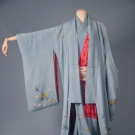 FOUR PIECE LADIES' KIMONO, JAPAN, 1870s