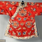 TWO SILK CHINESE ROBES, LATE 19TH C