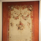 SIGNED AUBUSSON TAPESTRY CARPET, FRANCE, 1770