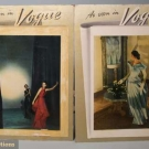 TWO POSTERS OF CHARLES JAMES GOWNS, 1946-1948