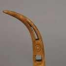 ESKIMO BONE ARROW STRAIGHTENER, 19th-20th C
