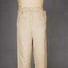 GENT'S FALL FRONT TROUSERS, AMERICA, 1825-1840