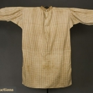 MAN'S WOVEN COTTON WORK SHIRT, 1830-1860