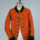 GENT'S RED FROCK COAT, ENGLAND, 1765-1780