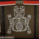 HAIDA OR TLINGIT BUTTON BLANKET, c. 1865-1880