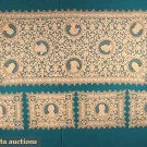 TWELVE NEEDLE LACE MATS & RUNNER SET, 1910s