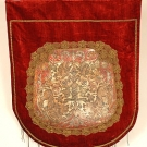 RENAISSANCE STYLE BANNER, LATE 19th C