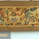 AUBUSSON TAPESTRY PANEL, 19th C