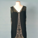 FRENCH BEADED DRESS, 1920s