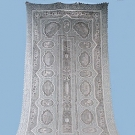APPENZELL GRAND TOUR BANQUET CLOTH, c. 1910