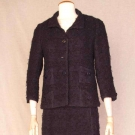 CHANEL NAVY SKIRT SUIT, 1963