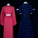 TWO DESIGNERS' LOUNGING ROBES, PARIS, 1938 & 1955