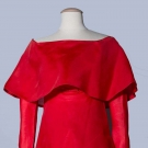PIERRE CARDIN RED COCKTAIL DRESS, 1960s