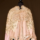 WOOL & LACE CAPE, LONDON, 1890s
