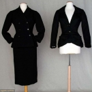 TWO CHRISTIAN DIOR GARMENTS, 1950 & 1954