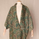 PRINTED SILK COCOON EVENING COAT, 1910-1912
