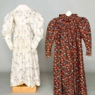 GIRLS' PRINTED COTTON GARMENTS, 1825-1835