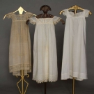THREE INFANT GOWNS, 1818-1825