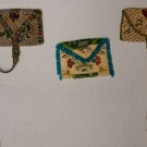 THREE BEADED MINATURE PURSES, MEXICO, 1800-1825