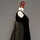 VELVET EVENING GOWN, BOLHAGEN, 1966